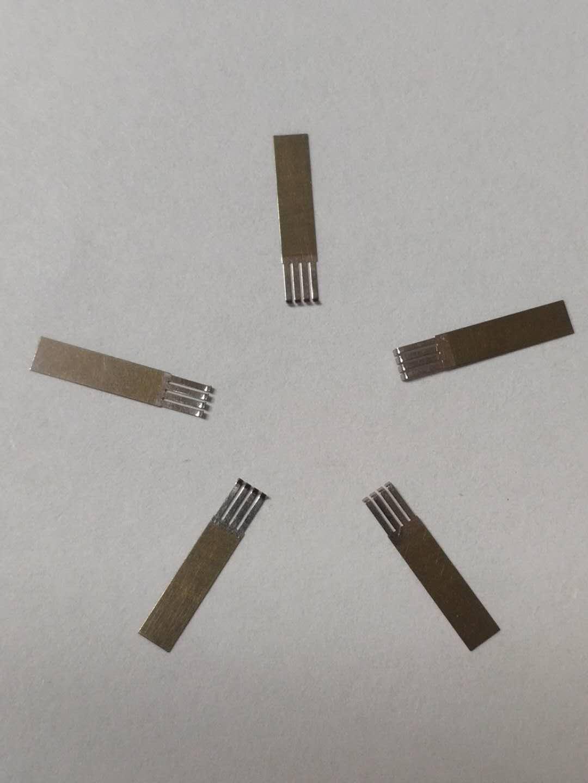 四指?式双金属电刷